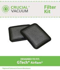 2 Replacements Gtech AirRam Cordless Vacuums Washable & Reusable Filter Kit