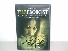 """THE """"EXORCIST"""" LINDA BLAIR SIGNED DVD (extended director's cut)"""