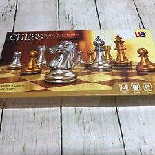"11.5"" Magnetic Folding Chess Set-King 2"".     bh"