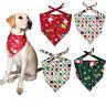1X Christmas Pet Puppy Dog Cat Bandanas Dogs Scarf Dog Accessories Pet Supplies