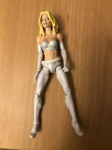 Marvel Legends White Queen Emma Frost Puck Wave Rare