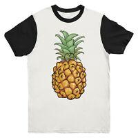 Pineapple Baseball T Shirt Indie Fashion Urban Mens Girls Tee Top New S M L XL