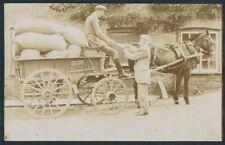 More details for compton pauncefoot - james thorn compton mills horse & cart r.p.  - c.1915 #61