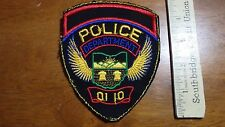 VINTAGE  DEPARTMENT OF POLICE OHIO  OBSOLETE PATCH BX C #18