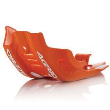 Acerbis MX Skid Placa-KTM SXF450 16-18 - Naranja Con Blanco