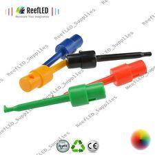 10pcs Large Size Round Single Hook Clip Test Probe Electronic Testing Arduino