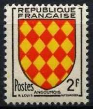 Francia 1954 SG#1229, 2 F #D64699 Granero, brazos estampillada sin montar o nunca montada