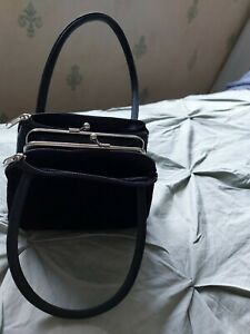 Ladies Small Black Evening Bag/purse