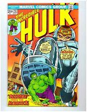 THE INCREDIBLE HULK #167 * HULK vs MODOK * 1973 * Marvel Comics * 9.2 NM-