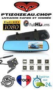 32 Go Dashcam Rétroviseur -Caméra Avant et Arrière -Full HD- Enregistrement-