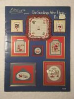 The Stockings Were Hung Counted Cross Stitch Christmas Patterns Alma Lynne
