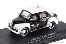 RENAULT 4CV PIE POLICIA PARIS NOREV POLICE MINIATURA COCHE ESCALA 1/43 DIECAST