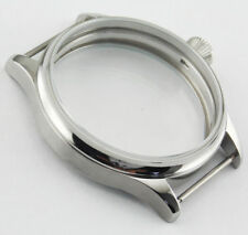 1*Corgeut 316L Stainless Steel Watch Case 6497/6498 Seagull ST36 mechanical