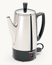 Presto 02822 6-Cup Stainless-Steel Coffee Percolator , New, Free Shipping