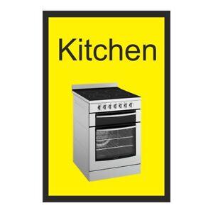 Kitchen Dementia Sign  200mm x 300mm Rigid Plastic  (DMS-15-RP)
