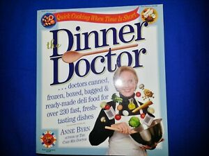 DINNER DOCTOR RECIPE BOOK BY ANNE BYRN
