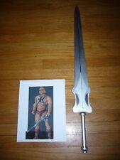 1984 MOTU Custom Wooden Heman Power Sword He-man