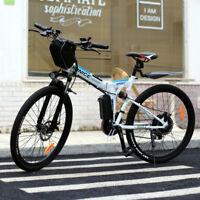 26'' Elektrofahrrad Mountainbike E-Bike Pedelec Klappbar Fahrrad Citybike 350W.