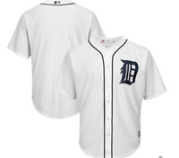MLB Majestic Detroit Tigers Baseball Jersey New Mens Sizes $100