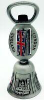 Vintage Dinner Bell Bottle Opener England London Metal 3D Souvenir Gift