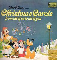 [DG3] DISCO 33 GIRI WALT DISNEY DISNEYLAND CHRISTMAS CAROLS FROM ALL OF US TO