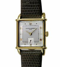 Vintage 30s Vacheron Constantin 18k Gold  Fancy Case large Men's Watch