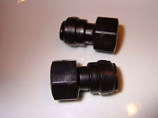 "½"" BSP female to 12mm push fit (2 pack) Water Pump - Filter connector."