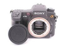 Sony Alpha A700 12.2MP Digital SLR Kamera - Schwarz (nur Body)