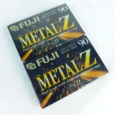Fuji Metal Z 90 Type IV Audio Cassette Metal Bias Sealed Lot of 2