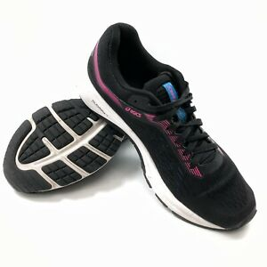 ✅💟✅@ Asics Gt 1000 Women' 9.5 B Eu41.5 Running Athletic Shoes Black Purple Mesh