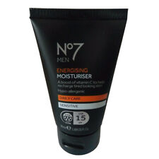 No7 Men Energising Moisturiser 50 ml Daily Care Sensitive SPF15