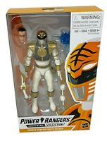 """Power Rangers Lightning Collection Action Figure White Ranger Mighty Morphin 6"""""""
