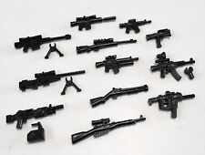 12x custom modern weapons guns pack compatible with Lego minifigures (UK stock)