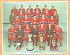 1960-61 Molson's Montreal Canadiens Team Photo, Plante, Geoffrion, etc. (French)