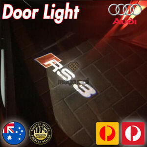 2x Projector Puddle Lights Welcome Courtesy Door For Audi A3 S3 RS3