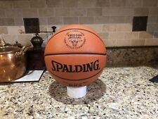 Official Spalding Chicago Bulls NBA Final Game Ball Leather Basketball Jordan