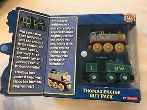 Brand New! Thomas & Friends Wooden Railway Gift Pack Northwestern Railway Thomas