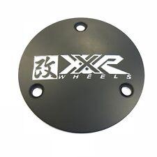 XXR Wheels (1) One Black Color Aluminum Center Cap EMB ZBX07055 Modified 962 S