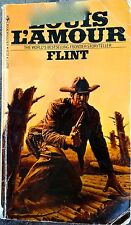 Vintage Book - Flint By Louis L'amour -  Paperback