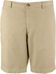 HUGO BOSS Blue Shorts Mens Slice-Short Regular Fit Stretch NWT NEW $98