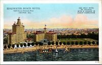 Chicago Illinois Edgewater Beach Hotel Sheridan Road 1915 Postcard