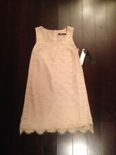 KENSIE Beige Lace 9690 Size 2 1920s 1930s STYLE FLAPPER CHARLESTON DRESS NWT