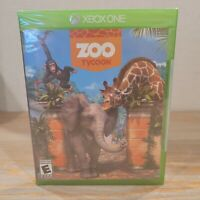 Zoo Tycoon (Microsoft Xbox One, 2013) Brand New Factory Sealed