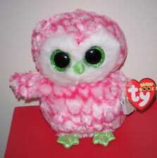 """Ty Beanie Boos - BUBBLY the Owl 6"""" (Claire's Exclusive) MWMT"""