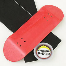 Peoples Republic - 32MM Wooden Fingerboard Deck - Red Extra Wide