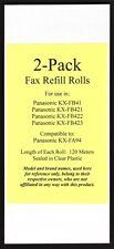 2-pack KX-FA94 Fax Film Refills for Panasonic KX-FB41 KX-FB421 KX-FB422 KX-FB423
