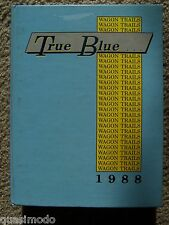 1988 MOORESVILLE HIGH SCHOOL YEAR BOOK, MOORESVILLE, INDIANA  -- UNMARKED!!!