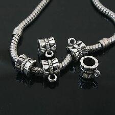 20pcs Tibetan Silver bail spacer charms Fit European Bracelet L0126