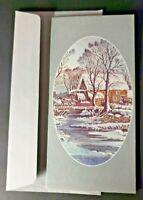 Vintage Rare Avon 1978 Christmas Card Printed in Spain by Gaez NOS
