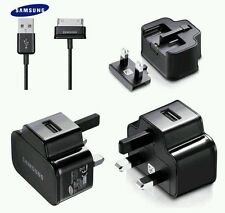 Official SAMSUNG Galaxy  Wall CHARGER 2AMP for TAB Tablet Note & USB DATA CABLE